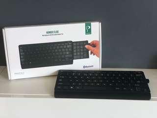 Bluetooth Mini Keyboard w/ Retractable Number Pad