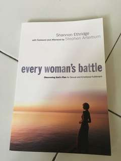 Every woman's battle book by Shannon ethridge