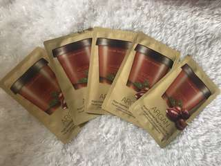 Nature Republic Argan Essential Deep Care Hair Pack 5 pcs