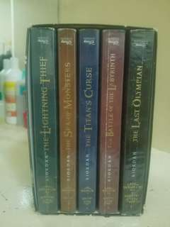 Percy Jackson and the Olympians Complete Set