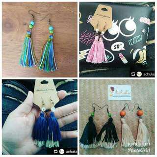 Custom Made Tassel Earrings