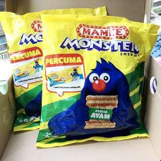 馬來西亞 MAMEE MONSTER 怪獸科學麵