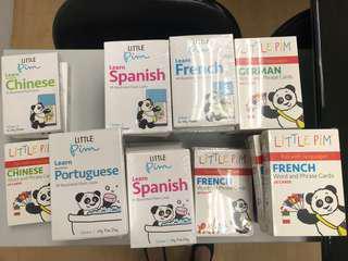 Baby flash card 嬰幼兒學習外語字卡 多國語言