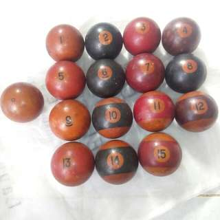 Jual bola billiar 16 pcs