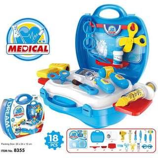 Medical doctor pretend play set