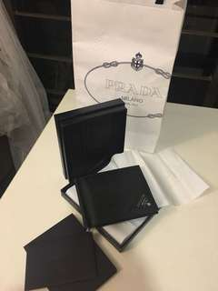 Prada wallet clip