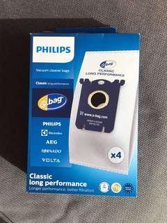 3 Philips disposable vacuum bag