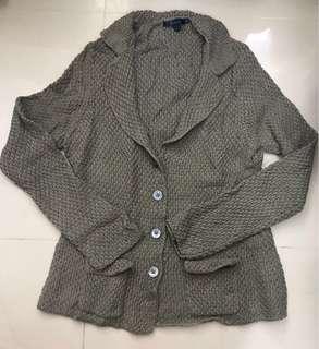Bortex-Sweater blazer