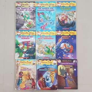 Geronimo Stilton Storybooks / Adventure Books
