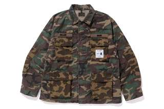 🚚 Wtaps x Bape JUNGLE L/S SHIRT S號