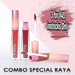 Obsess cosmetics lip matte instocks