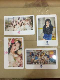"TWICE 2nd tour ""Twiceland ZONE 2"" in Japan Official Merchandise Photocard Set"