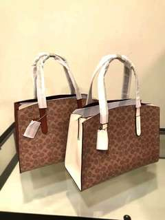 Coach open tote bag