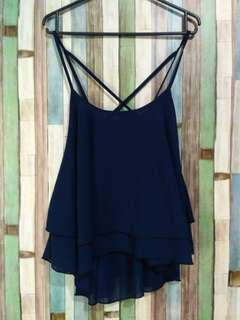 Top tanktop navy layer