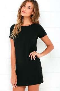 Black shift dress from Bangkok NEW