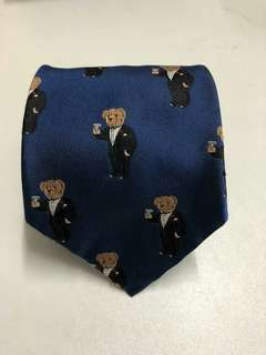 Ralph Lauren Polo Bear Tie 呔 領帶
