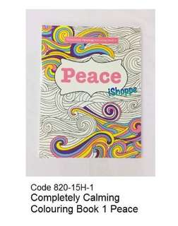 Completely Colouring Book, PEACE