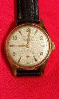 Swiss Staff Shield Rose Gold Plated Watch