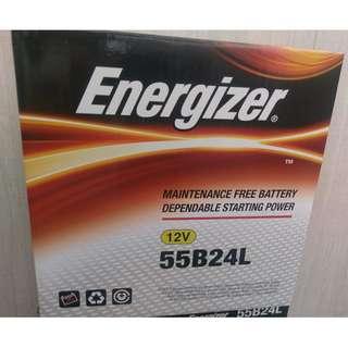 (請先詢價) 勁量 Energizer 55B24L 55B24LS 55B24R 55B24RS 汽車電池 汽車電瓶