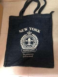 Tote Bag (牛仔布袋)(可放A4 size ) ($25 包郵)