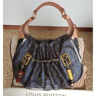 LOUIS VUITTON limited edition mono kalahari GM bag