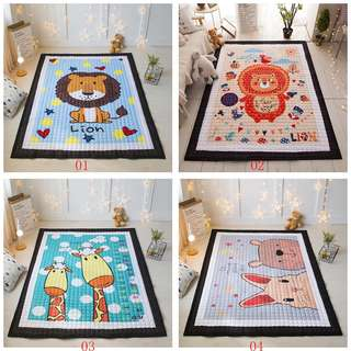 Thicker Baby Crawling Mat Cotton Various Cartoon Patterns Environmental Playmat