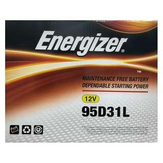 (請先詢價) 勁量 Energizer 95D31L 95D31R 汽車電池 汽車電瓶