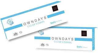 Owndays contact lenses