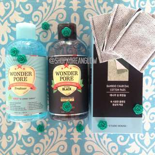 Etude House Wonder Pore Freshner Dual Solution Set Limited Edition