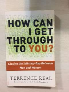 How can I get through to you by Terence Real