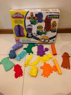Playdoh - despicable Me minions