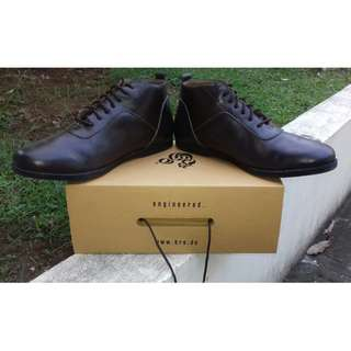 "Brodo''""Toraja Brown Black Sole''"" Size 44"