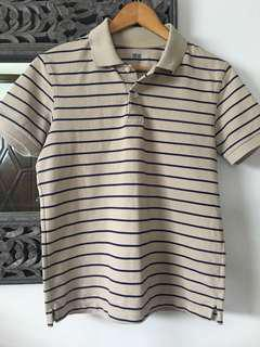 Uniqlo striped poloshirt