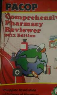 PACOP Reviewer 2012 plus pharmacy notes