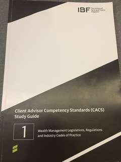 CACS Paper 1+2 Textbooks PDF