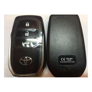 Smart Remote Key Shell Case for Toyota Car Keys