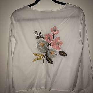 Embroidered Blouse (M)