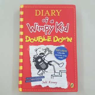 Diary Of A Wimpy Kid Double Down Hardcover Story Book
