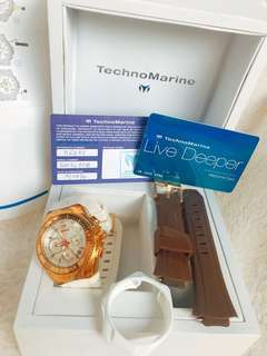 💯% AUTHENTIC Technomarine watch