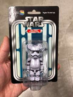 Bearbrick star war 100% 白兵