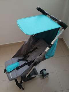 Compact cabin stroller (like pockit)