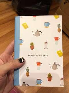 Notebook coffee