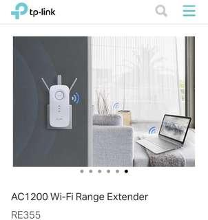 TP-Link High speed wi-fi range extender RE355