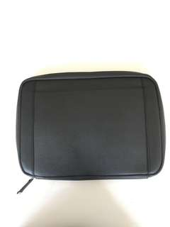 Black Saffiano laptop / clutch / document holder