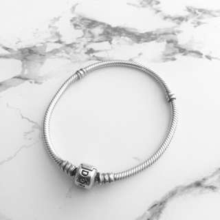 PANDORA - sterling silver barrel clasp