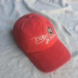FUBU JEANS NUMBER FIVE CAP RED