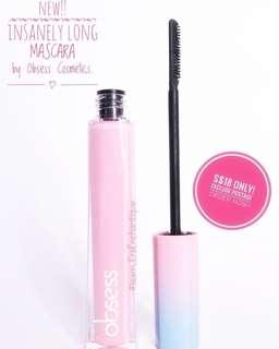 Obsess cosmetics mascara instocks