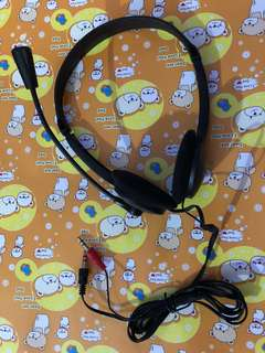 HeadPhone + Mic (BNIB)
