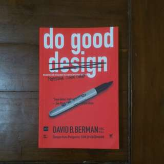 Buku Do Good Design bahasa Indonesia