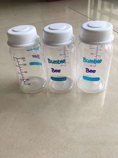 3 pack breast milk storage bottle